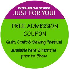 Pleasanton Show Sew Quilt Needlework Craft Expo