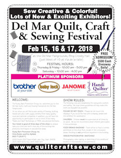 Del Mar Quilt Craft Sewing Festival